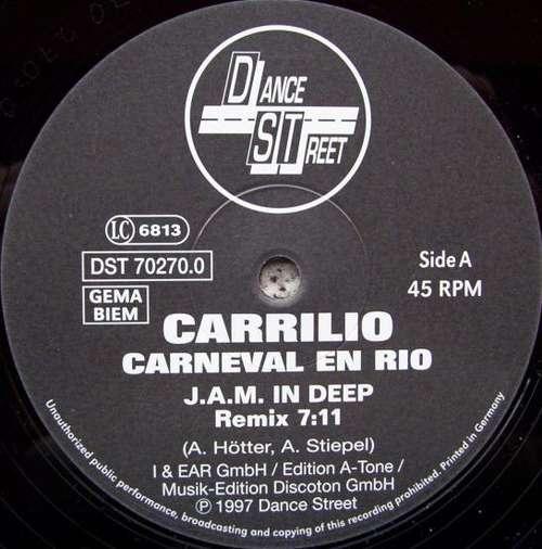 Cover zu Carrilio - Carneval En Rio (12, S/Sided) Schallplatten Ankauf