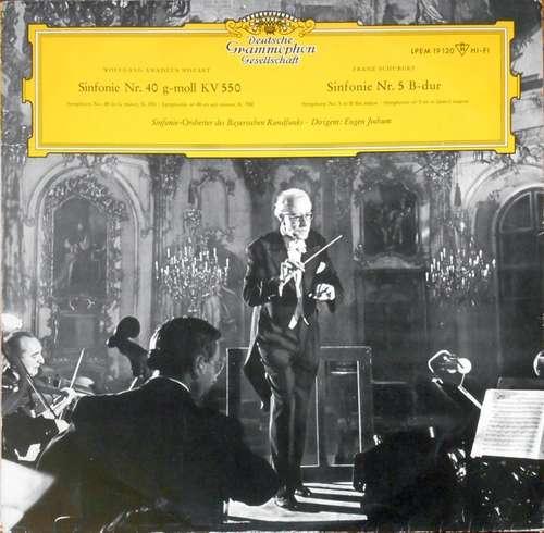 Cover zu Symphonie-Orchester Des Bayerischen Rundfunks Dirigent: Eugen Jochum - Wolfgang Amadeus Mozart  Sinfonie Nr. 40 Franz  Schubert Sinfonie Nr. 5 (LP, Mono) Schallplatten Ankauf