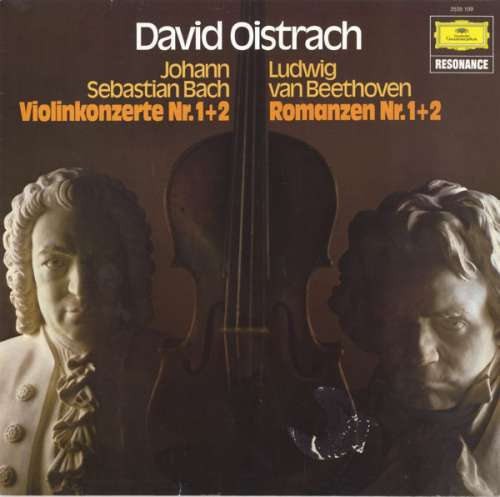 Bild David Oistrach - Johann Sebastian Bach / Ludwig Van Beethoven - Violinkonzerte Nr. 1+2 / Romanzen Nr. 1+2 (LP, Album, Comp) Schallplatten Ankauf