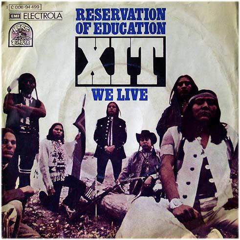 Cover XIT (4) - Reservation Of Education (7, Single) Schallplatten Ankauf