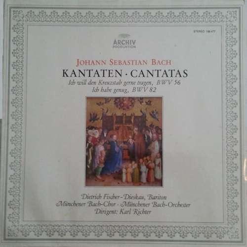 Cover zu Johann Sebastian Bach - Kantaten • Cantatas (LP, Album, Gat) Schallplatten Ankauf