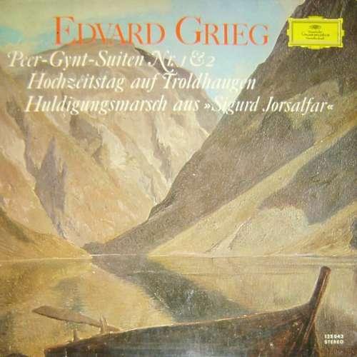 Bild Edvard Grieg - Richard Kraus / Bamberger Symphoniker - Peer-Gynt-Suite Nr. 1 Op. 46 / Hochzeitstag Auf Troldhaugen Op. 65 Nr. 6 / Peer-Gynt-Suite Nr. 2 Op. 55 / Huldigungsmarsch Aus Sigurd Jorsalfar (LP) Schallplatten Ankauf