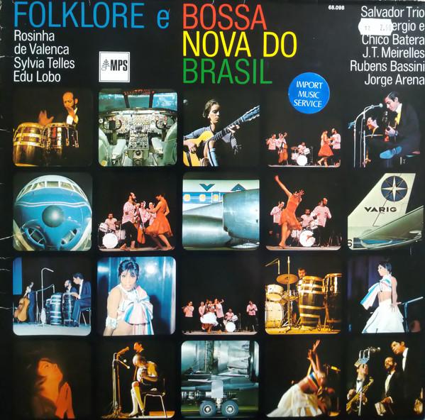 Bild Various - Folklore E Bossa Nova Do Brasil (LP, Comp, RE) Schallplatten Ankauf