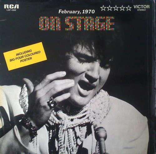 Cover Elvis Presley - On Stage, February 1970 (LP) Schallplatten Ankauf