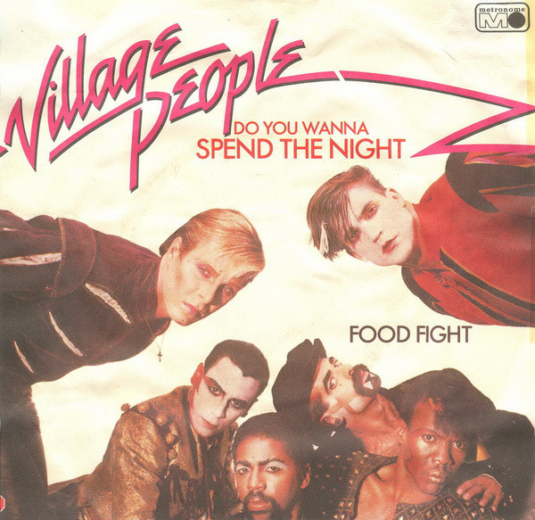 Cover zu Village People - Do You Wanna Spend The Night (7, Single) Schallplatten Ankauf
