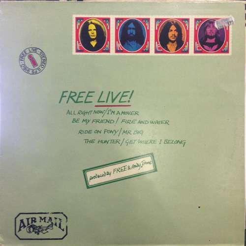 Bild Free - Free Live (LP, Album, RE) Schallplatten Ankauf