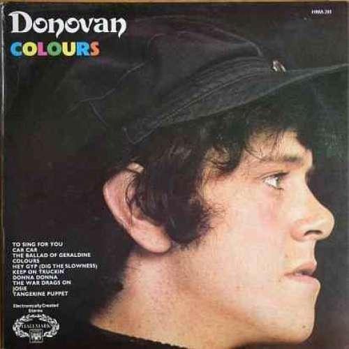 Bild Donovan - Colours (LP, Comp) Schallplatten Ankauf