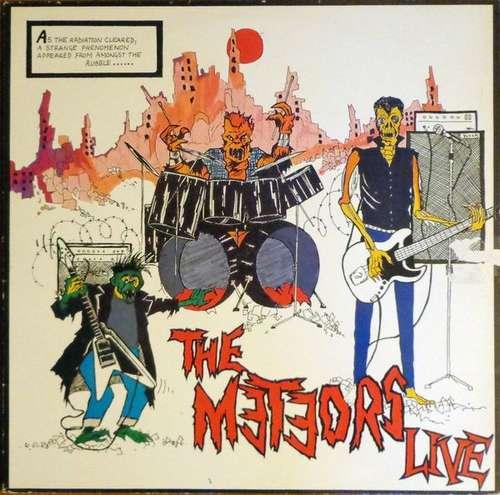 Cover The Meteors (2) - The Meteors Live (LP, Album) Schallplatten Ankauf