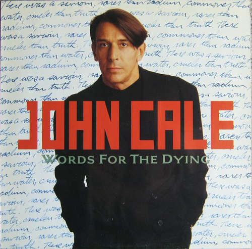 Cover John Cale - Words For The Dying (LP, Album) Schallplatten Ankauf