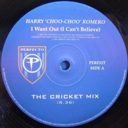 Bild Harry 'Choo-Choo' Romero* - I Want Out (I Can't Believe) (12) Schallplatten Ankauf