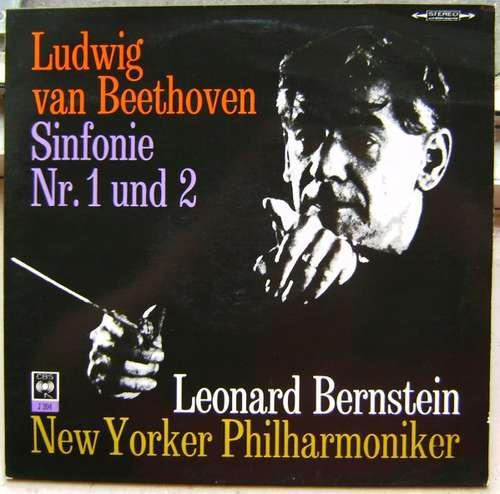 Bild Ludwig Van Beethoven - Leonard Bernstein - Sinfonie Nr.2 D-Dur Op. 36 & Sinfonie Nr.1 C-Dur Op.21 (LP) Schallplatten Ankauf