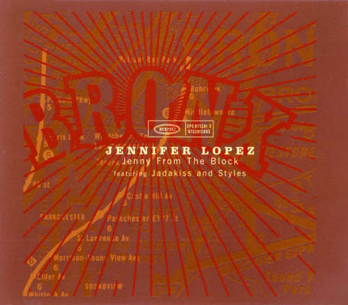 Cover zu Jennifer Lopez Featuring Jadakiss And Styles* - Jenny From The Block (CD, Maxi) Schallplatten Ankauf