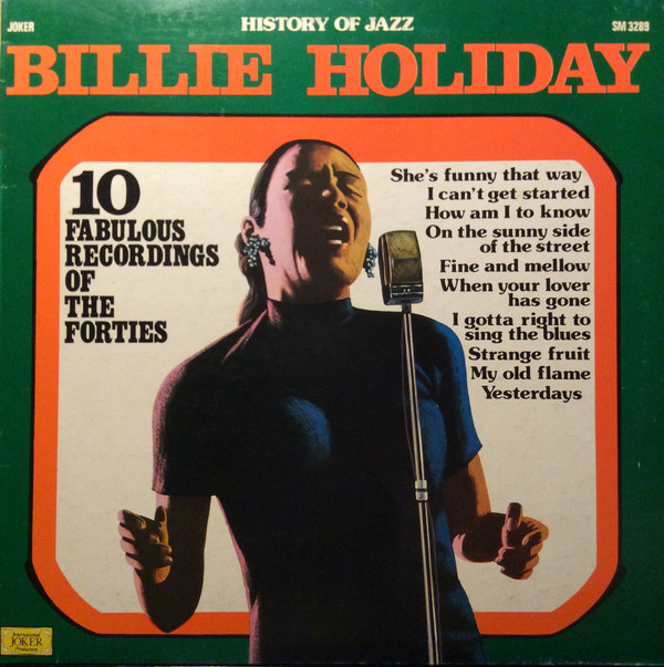 Cover Billie Holiday - 10 Fabulous Recordings Of The Forties (LP, Comp) Schallplatten Ankauf