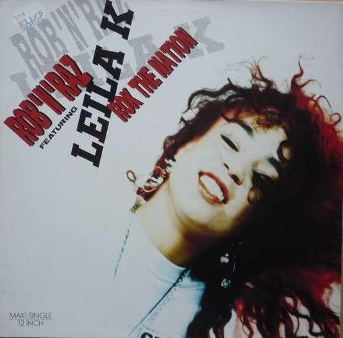 Cover Rob 'N' Raz Featuring Leila K - Rok The Nation (12, Maxi) Schallplatten Ankauf