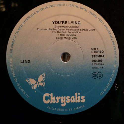 Cover Linx - You're Lying (12) Schallplatten Ankauf