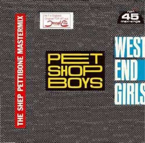 Cover Pet Shop Boys - West End Girls (The Shep Pettibone Mastermix) (12, Maxi, RP) Schallplatten Ankauf