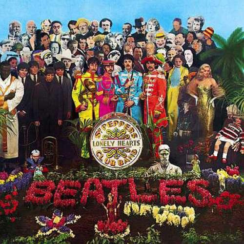 Cover Beatles, The - Sgt. Pepper's Lonely Hearts Club Band (LP, Album, RE, Gat) Schallplatten Ankauf