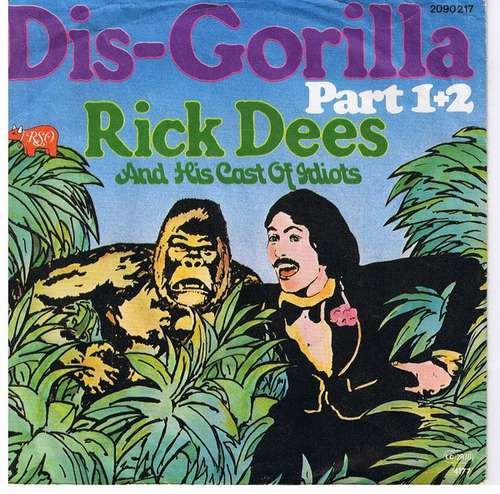 Bild Rick Dees And His Cast Of Idiots* - Dis-Gorilla Part 1+2 (7, Single) Schallplatten Ankauf