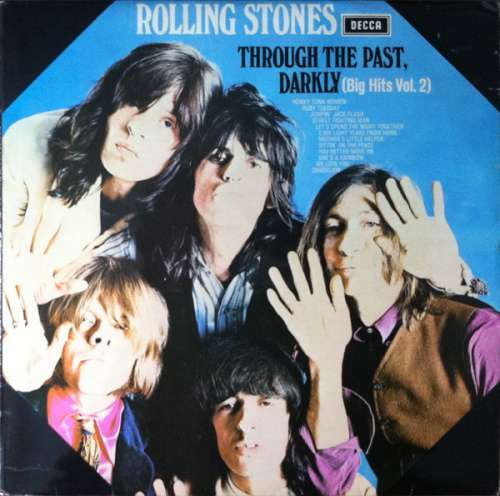 Cover zu The Rolling Stones - Through The Past, Darkly (Big Hits Vol. 2) (LP, Comp, RE, Squ) Schallplatten Ankauf