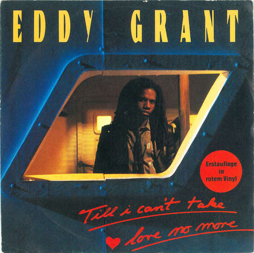 Cover Eddy Grant - Till I Can't Take Love No More (7, Single, Red) Schallplatten Ankauf