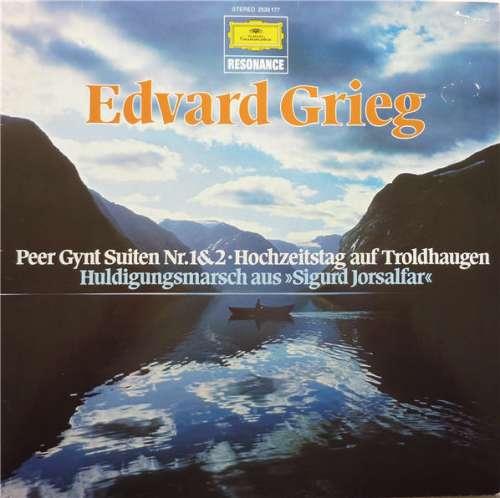 Bild Edvard Grieg - Peer Gynt Suiten Nr.1&2 • Hochzeitstag Auf Troldhaugen / Huldigungsmarsch Aus »Sigurd Jorsalfar« (LP, Comp, RE) Schallplatten Ankauf