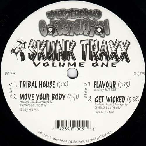 Bild DJ Attack / Gil The Gruv - Skunk Traxx Volume One (12) Schallplatten Ankauf