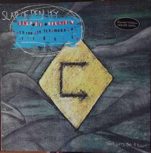 Bild Slap Of Reality - Three Lefts Make A Right (LP, Album, Ltd, Blu) Schallplatten Ankauf