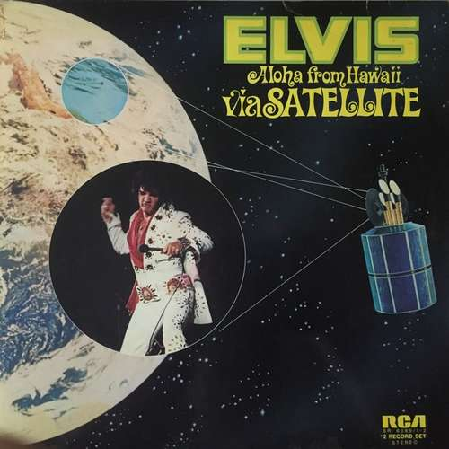 Cover Elvis Presley - Aloha From Hawaii Via Satellite (2xLP, Album, Gat) Schallplatten Ankauf