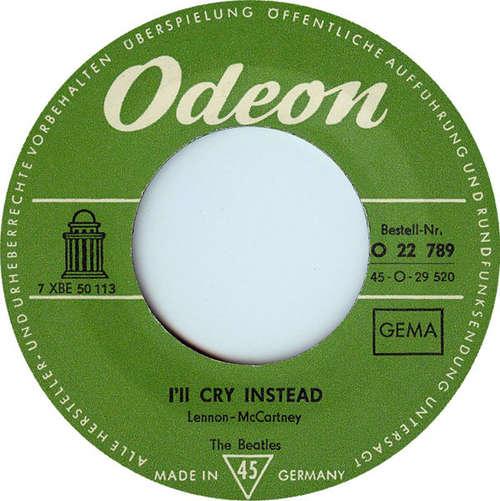 Cover zu The Beatles - I'll Cry Instead (7, Single) Schallplatten Ankauf