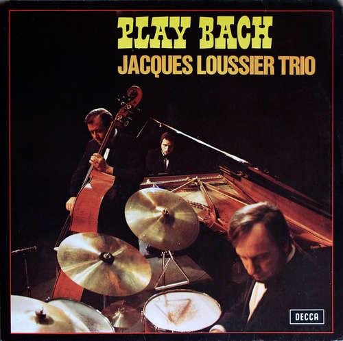 Cover Jacques Loussier Trio - Play Bach (2xLP) Schallplatten Ankauf