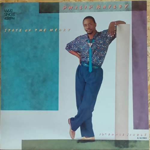 Bild Philip Bailey - State Of The Heart (12) Schallplatten Ankauf