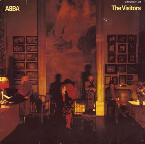Cover ABBA - The Visitors (LP, Album) Schallplatten Ankauf