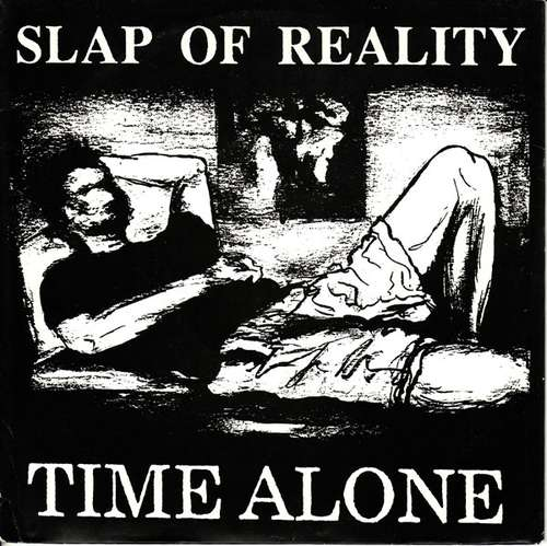 Bild Slap Of Reality - Time Alone (7, EP, Whi) Schallplatten Ankauf