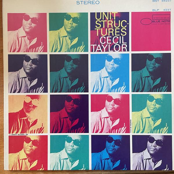 Cover Cecil Taylor - Unit Structures (LP, Album, RE) Schallplatten Ankauf