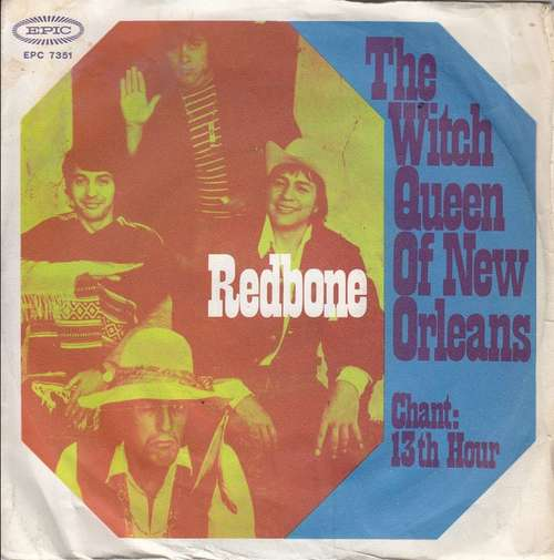 Cover Redbone - The Witch Queen Of New Orleans (7, Single) Schallplatten Ankauf