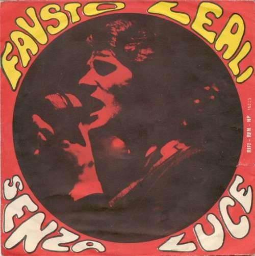 Cover zu Fausto Leali - Senza Luce (7) Schallplatten Ankauf
