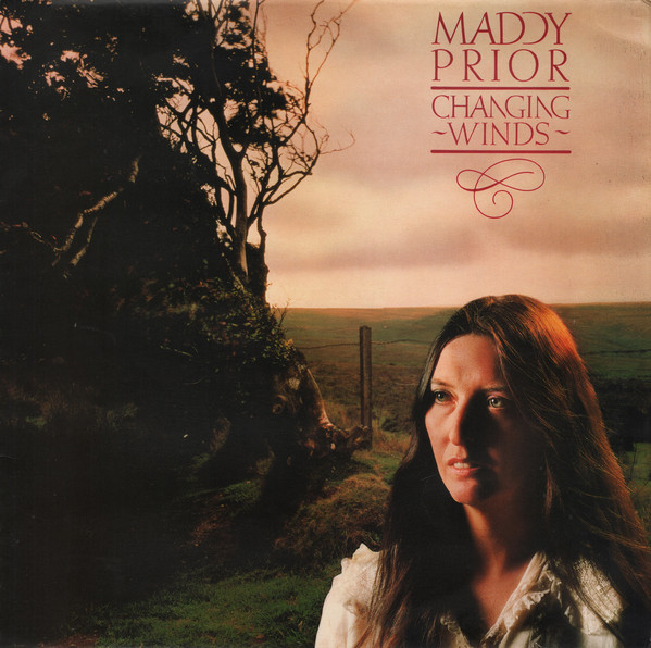 Cover zu Maddy Prior - Changing Winds (LP, Album) Schallplatten Ankauf