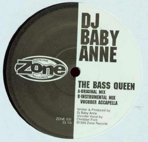 Cover DJ Baby Anne - The Bass Queen (12) Schallplatten Ankauf