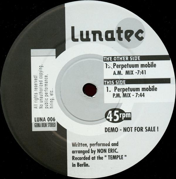 Cover Luxor - Perpetuum Mobile (12, Promo) Schallplatten Ankauf