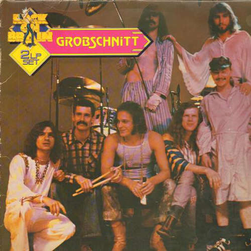 Cover Grobschnitt - Rock On Brain (2xLP, Comp) Schallplatten Ankauf