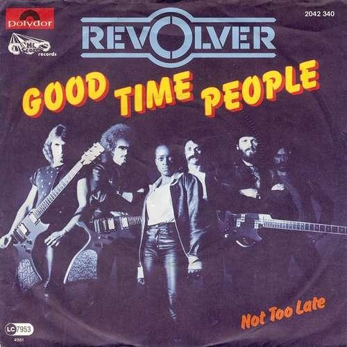Cover zu Revolver (9) - Good Time People (7, Single) Schallplatten Ankauf