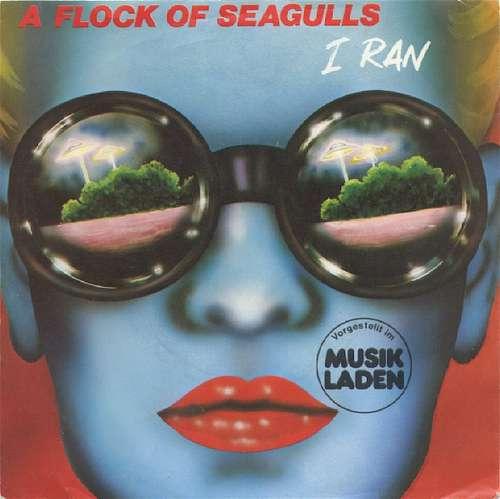 Cover A Flock Of Seagulls - I Ran (7, Single) Schallplatten Ankauf