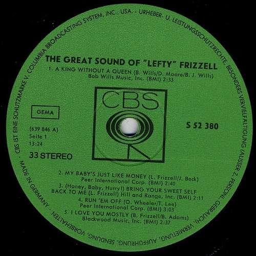 Bild Lefty Frizzell - Lefty Frizzell's Country Favorites (LP, Comp) Schallplatten Ankauf