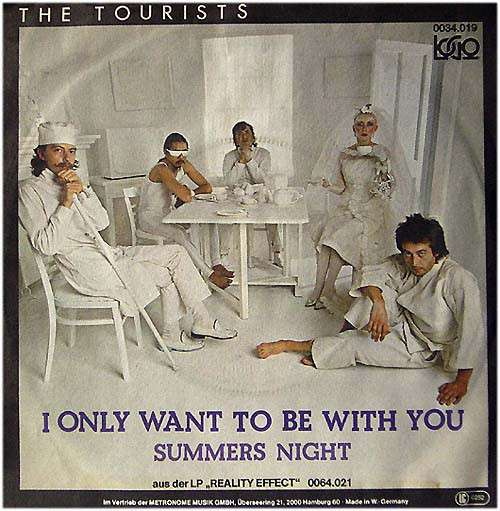 Cover zu The Tourists - I Only Want To Be With You (7, Single) Schallplatten Ankauf