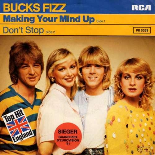 Bild Bucks Fizz - Making Your Mind Up (7, Single) Schallplatten Ankauf
