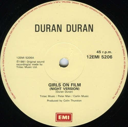 Cover Duran Duran - Girls On Film (Night Version) (12, Single) Schallplatten Ankauf