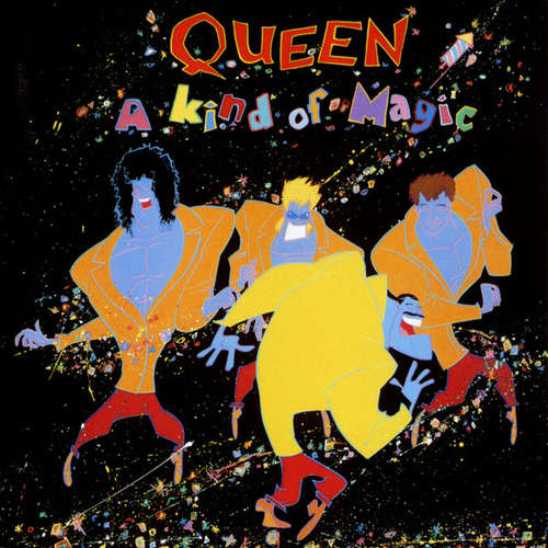 Cover Queen - A Kind Of Magic (CD, Album) Schallplatten Ankauf