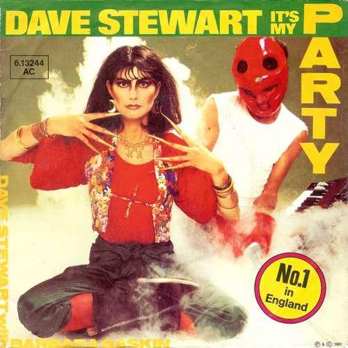 Bild Dave Stewart With Barbara Gaskin* - It's My Party (7, Single) Schallplatten Ankauf