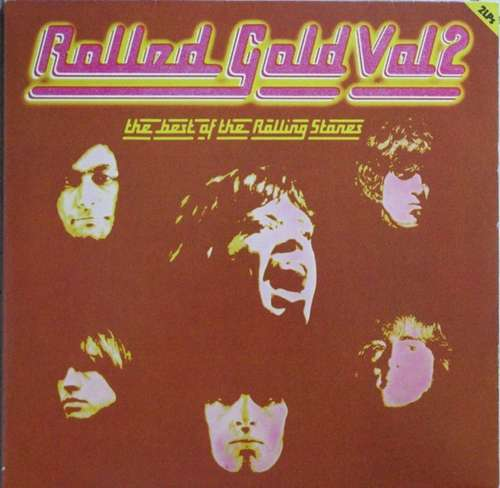 Cover The Rolling Stones - Rolled Gold, Vol. 2 - The Best Of The Rolling Stones (2xLP, Comp) Schallplatten Ankauf