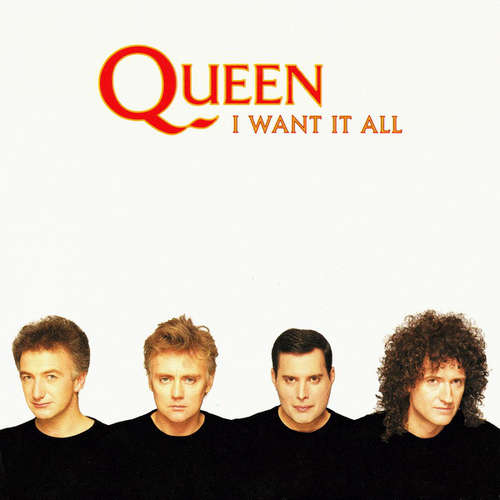 Cover Queen - I Want It All (7, Single) Schallplatten Ankauf